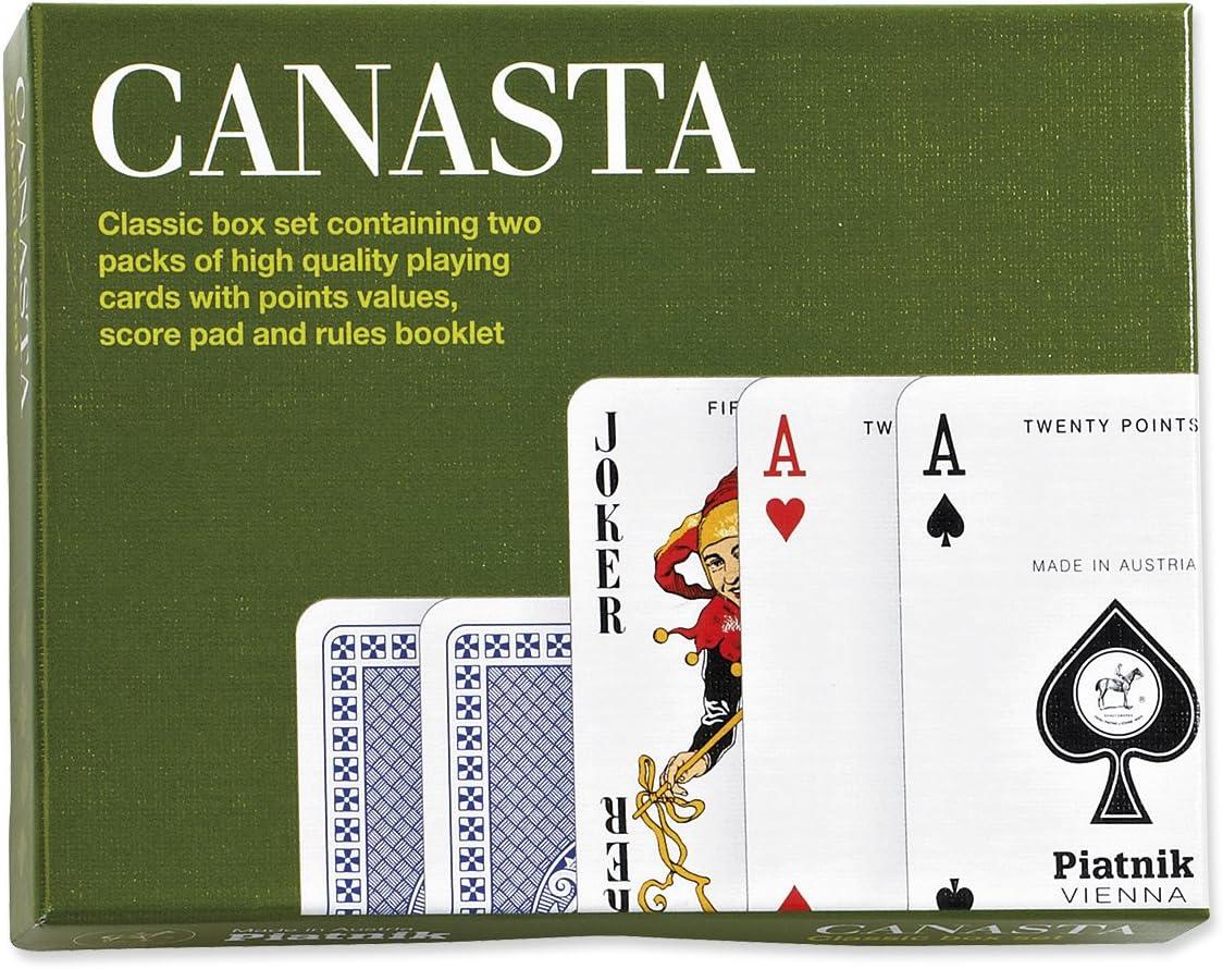 Piatnik P2555 - Juego de Cartas Estilo Canasta: Amazon.es: Juguetes y juegos