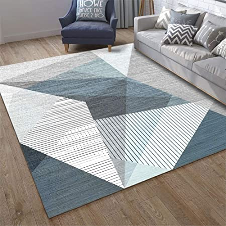 RUG Alfombra de Estampado geométrico con Estampado 3D ...