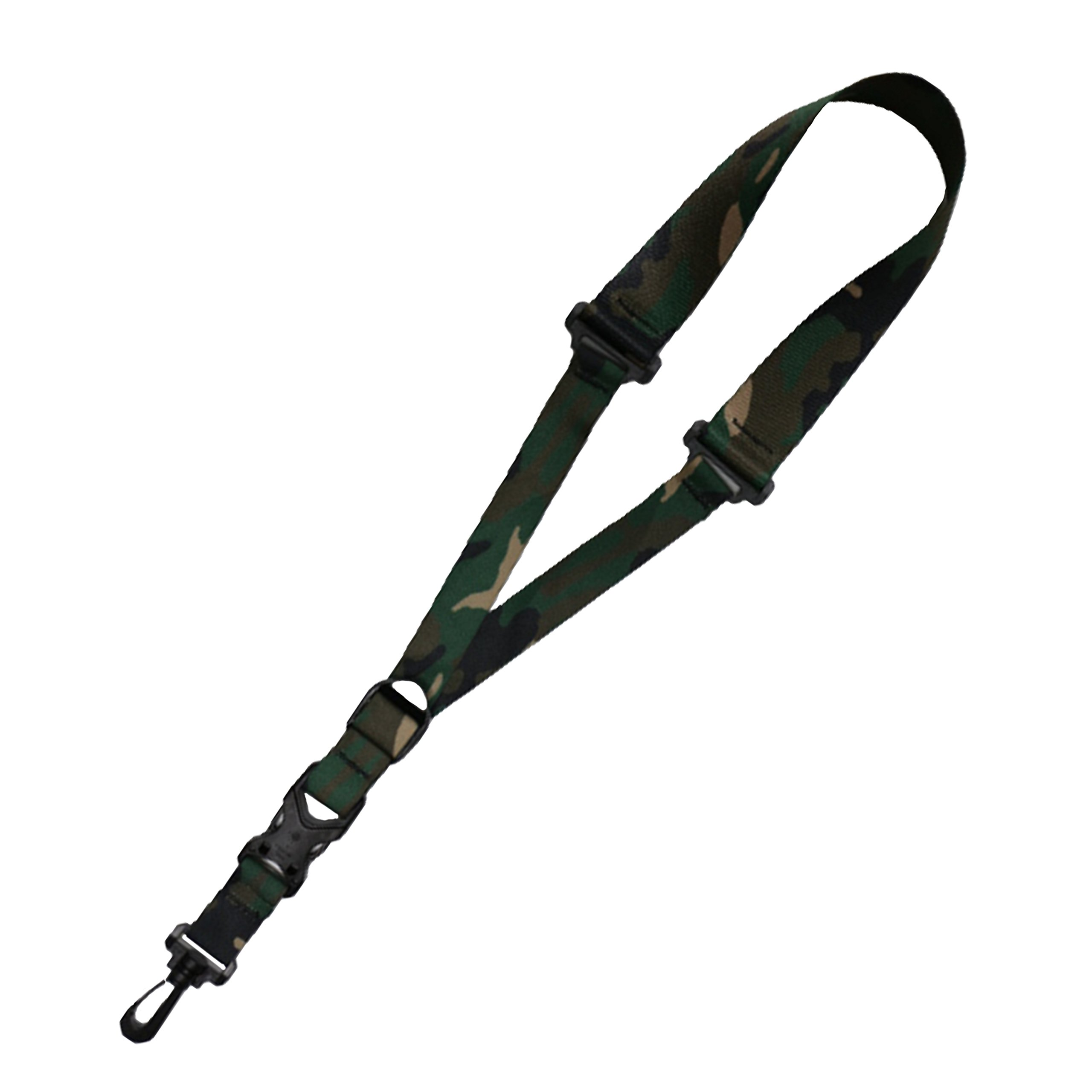 Killer-Q Saxophone Strap - Stylish Quick Release, Adjustable Sax Neck Straps, Made in USA – Woodland Camo Design
