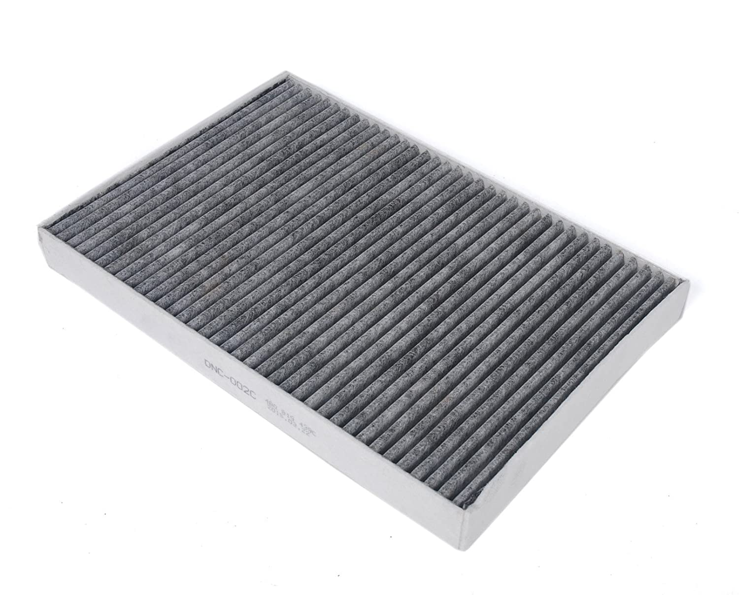 2001-2004 2002-2003 HIFROM Activated Carbon Cabin Air Filter Replacement Part# 8E0819439 4B0819439C CUK3037 for Audi: A4 ; S4 2004-2009 ; S6 ; Allroad 2002-2009 ; A6 2001-2005