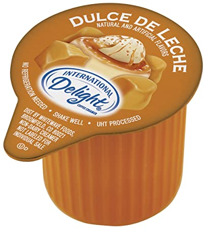 International Delight Dulce De Leche Liquid Creamer, 288-Count Single-Serve Packages
