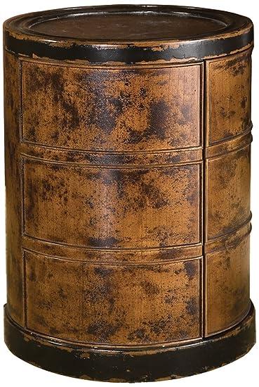 Uttermost 25522 Lawton Storage Drum Table
