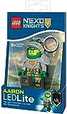 Re:creation Group Plc IQLGL-KE98 LEGO Nexo Knights Aaron Key Light with Shield Power Code