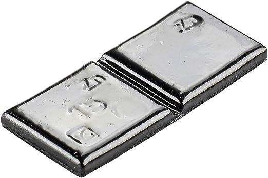100x Klebegewichte Schwarz Typ361 15g Klebegewichte Alufelgen Auswuchtgewichte Auto