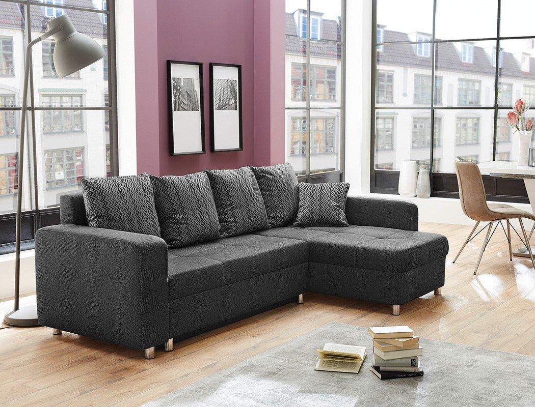 Beeindruckend Sofa Wohnzimmer Galerie Von Wohnlandschaft Lyrion 235x154 Cm Anthrazit Funktionssofa Eckcouch