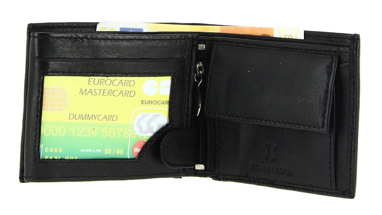 Une F/ête Etuis pour Cartes Porte Monnaie Un Anniversaire Cadeau No/ël portecarte Portefeuille Cuir Souple Secretdressing