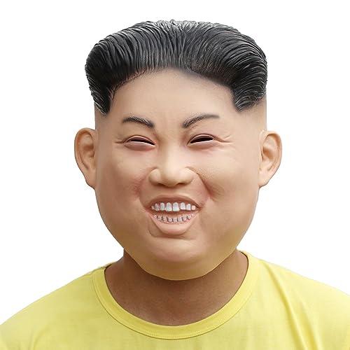 PartyCostume Latex Hunam face Mask Kim Jong Un
