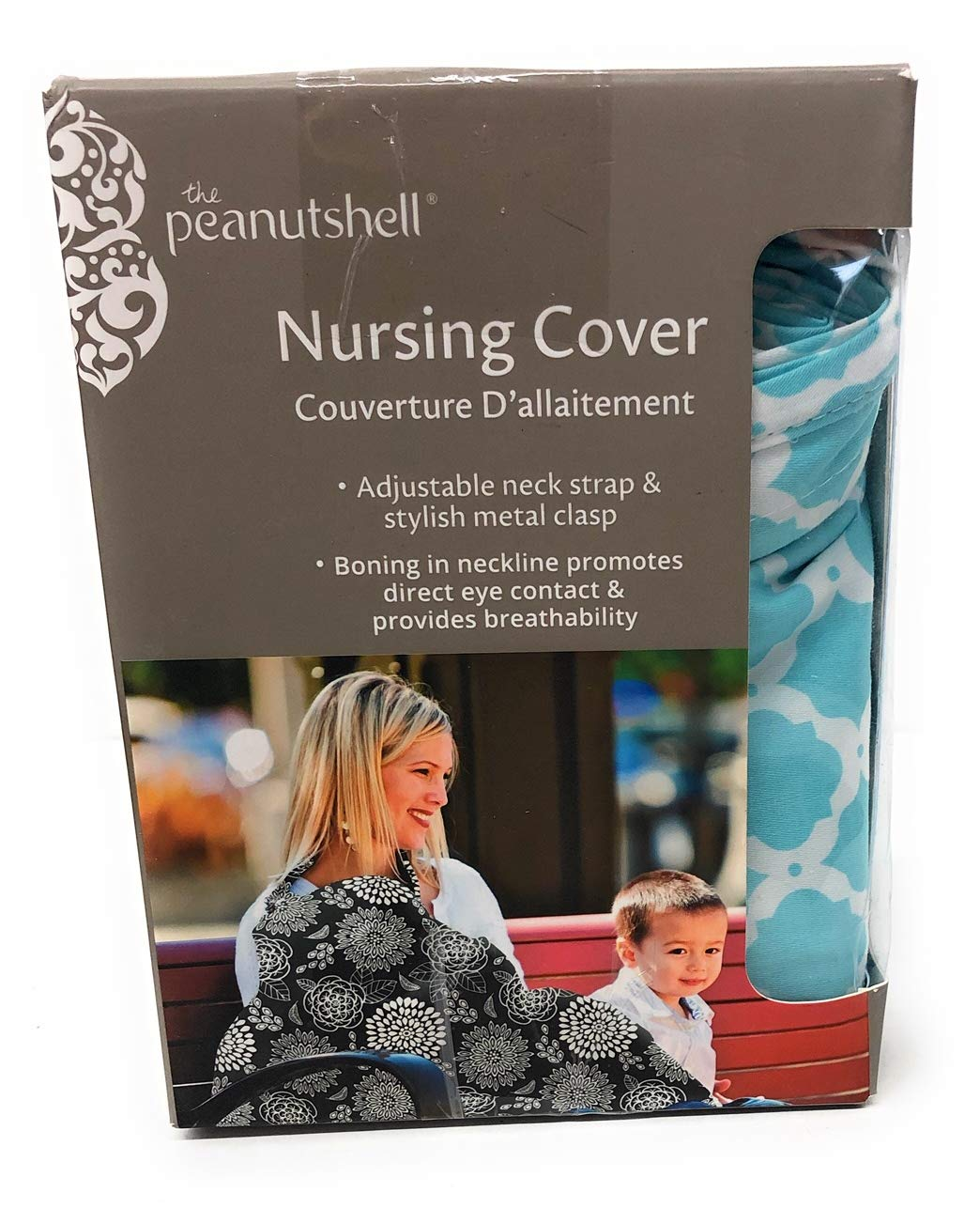 高質で安価 Aqua Morroco Designer Breast by Feeding Nursing B01B8AGDP6 Cover Peanut by The Peanut Shell by The Peanut Shell B01B8AGDP6, 獣医師宿南章の愛情ごはん療法食:251eba0d --- a0267596.xsph.ru