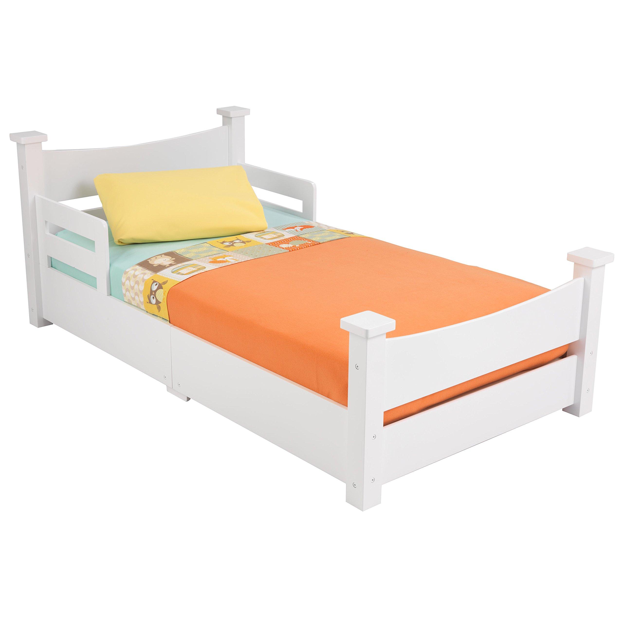 KidKraft Addison Toddler Bed, White by KidKraft