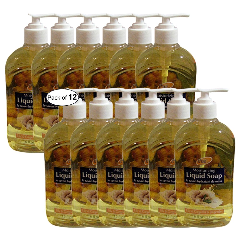 Purest Moisturizing Liquid Soap Lily & Ginger(500ml) (Pack of 12)