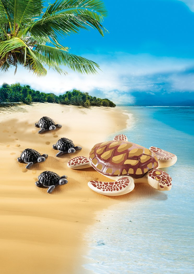 Playmobil Sea Turtle with Babi...
