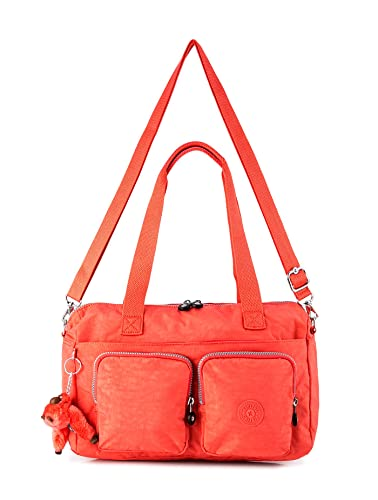 Kipling Women s Shoulder Bag - CYRENE CORAL ROSE F  Amazon.in  Shoes    Handbags a7a33af949011