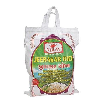 Nirav, Jeerasar Rice, 10 Pound(LB)