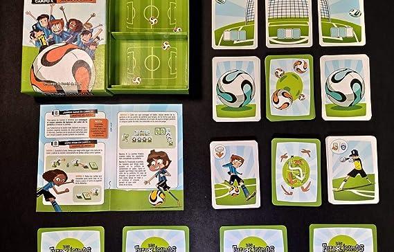 Moulin Roty LOS FUTBOLÍSIMOS: Campo 4 Juego de Cartas: Amazon.es: Juguetes y juegos