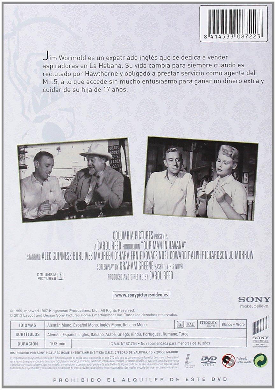 Amazon.com: Clásicos Años 50: Nuestro Hombre En La Habana (Import Movie) (European Format - Zone 2) (2013) Alec Guiness: Movies & TV