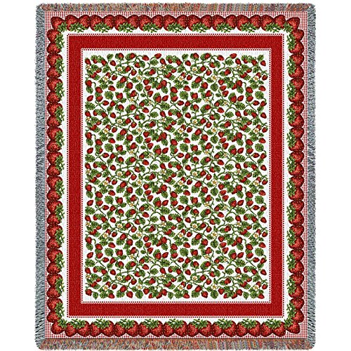 Tapestry Strawberry Festival (Pure Country Strawberry Festival Blanket Tapestry Throw)