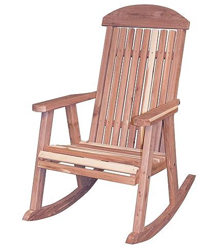 Incroyable AmeriHome USA Amish Made Cedar Rocking Chair