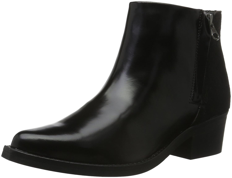 Hip D1071, Zapatillas de Estar por Casa para Mujer Negro