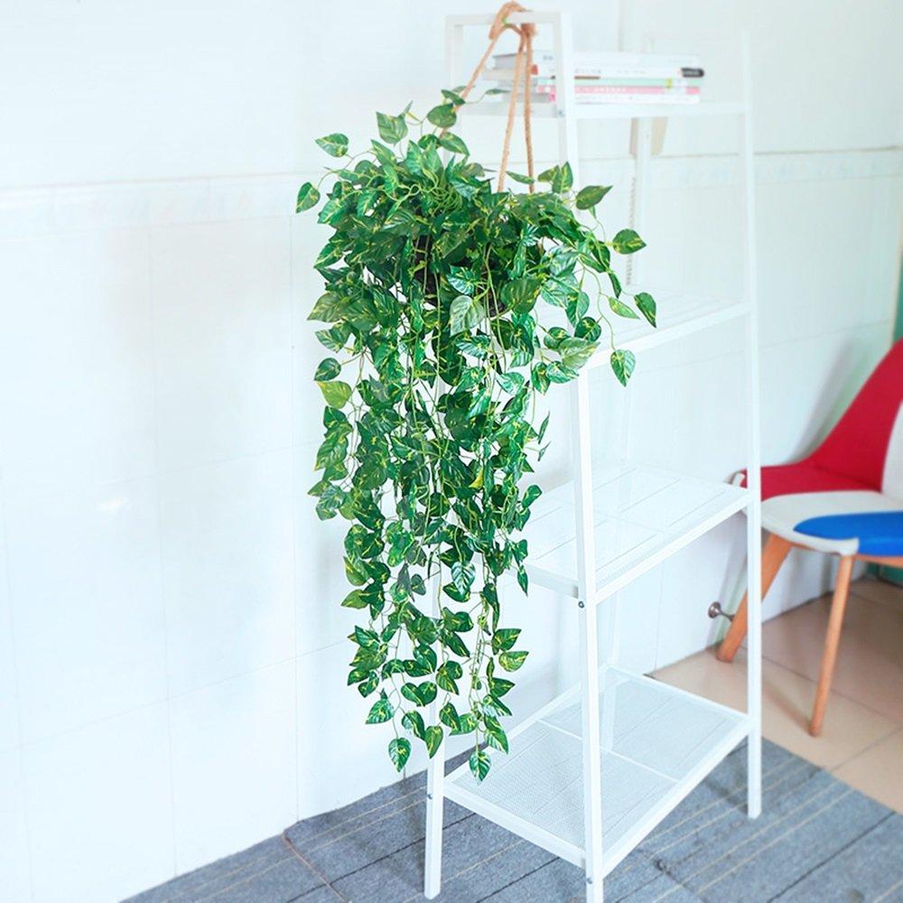 Grünpflanzen Hausgarten-Fenster Dekoration Kunststoff Künstliche Reben Begonia