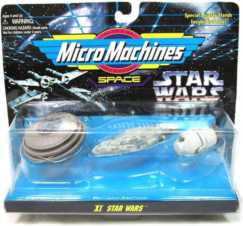STAR WARS MICRO MACHINES MON CALAMARI STAR CRUISER BRONZE COLOR