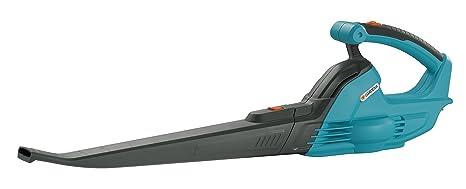 Soplador universal AkkuJet 18-Li de GARDENA: soplador de hojas con batería, potencia del motor 18 V, velocidad de soplado 190 km/h, peso ligero, se ...