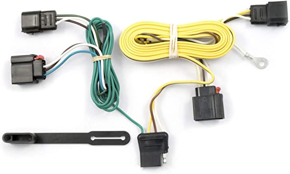 [SCHEMATICS_4UK]  Amazon.com: CURT 56009 Vehicle-Side Custom 4-Pin Trailer Wiring Harness for  Select Jeep Grand Cherokee: Automotive | Cherokee Wiring Harness |  | Amazon.com