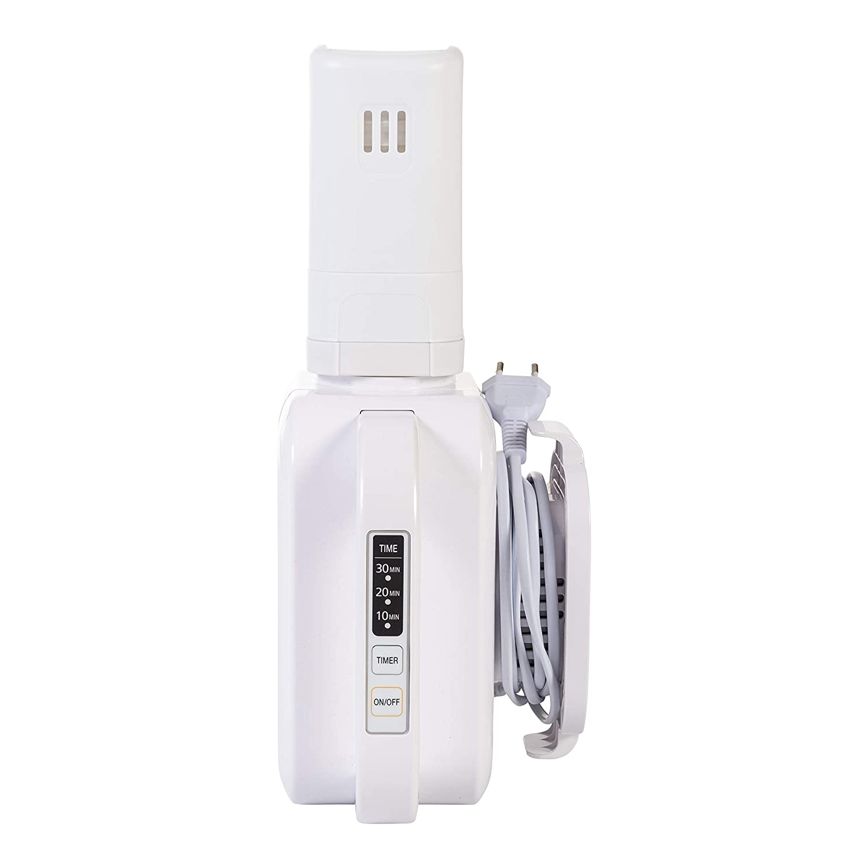 ZoLi Blanc Thermos en Acier Inoxydable avec Paille 470 ml Pow Pip