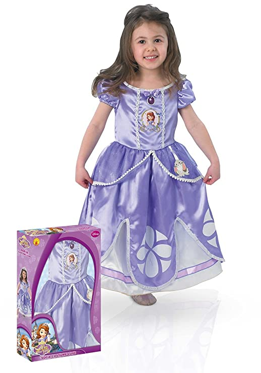 Rubies 154980-M - Disfraz de Princesa Sofía, para 5-6 años (Medium): Amazon.es: Juguetes y juegos
