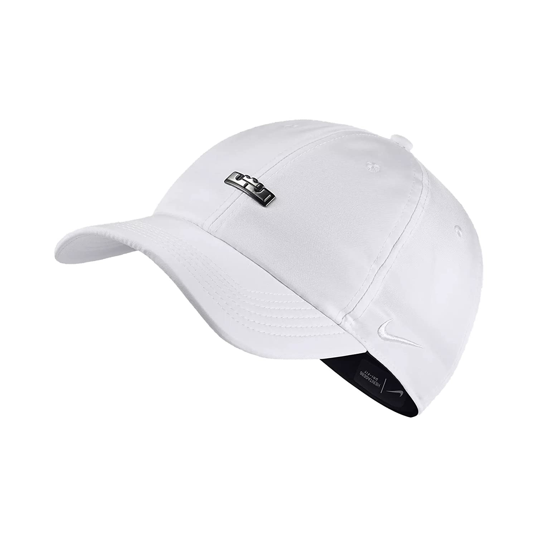 Amazon.com  Nike Men`s Lebron Heritage 86 QS Adjustable Basketball Hat  (Black(AA8131-010) White White 60f6dbc6f39