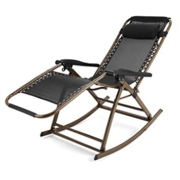 Fauteuil Inclinable Relax Pliante Polyester Acier Aceshin Camping Et rtQdhCs