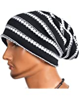 VECRY Men's Slouchy Beanie Knit Crochet Rasta Cap For Summer Winter