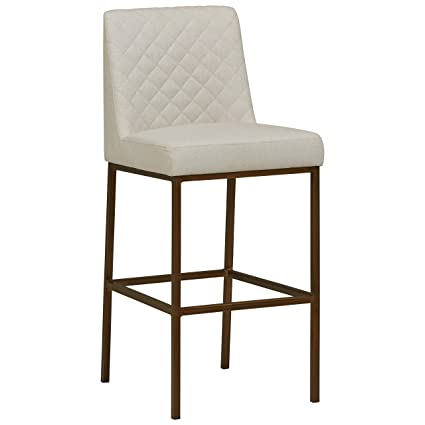 Prime Rivet Vermont Modern Kitchen Counter Bar Stool 42 Inch Height Brass Legs Chalk Onthecornerstone Fun Painted Chair Ideas Images Onthecornerstoneorg
