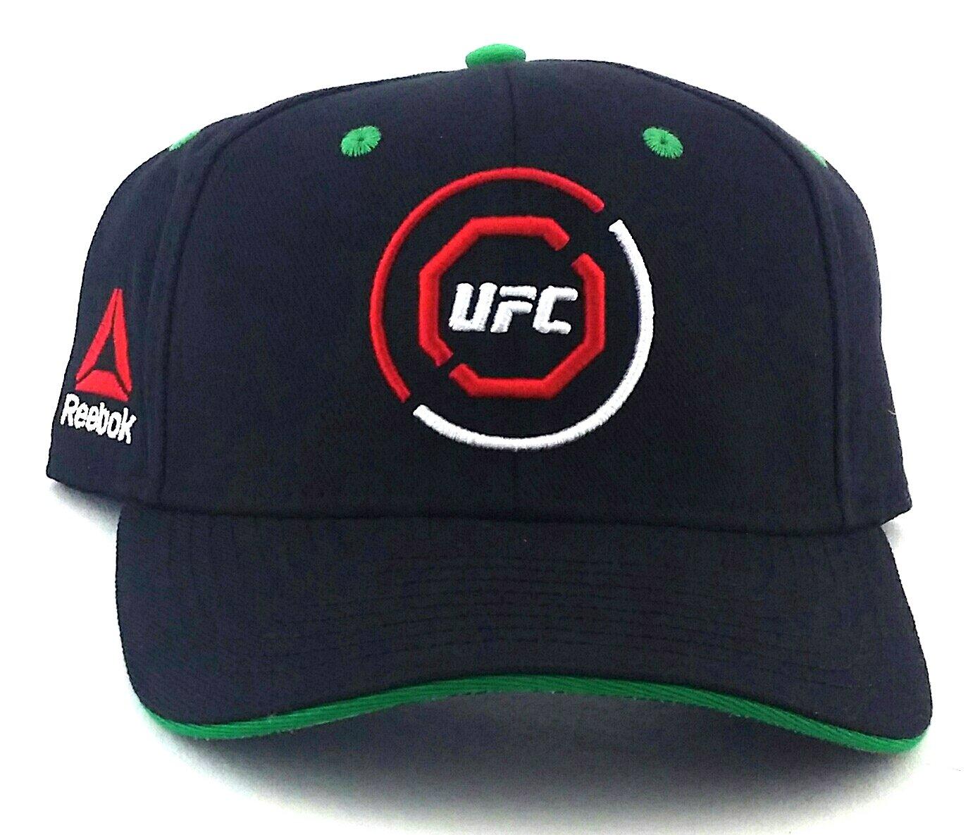 50381b2545899 Amazon.com : UFC Reebok RBK MMA Black Red Green Octagon Fighters ...