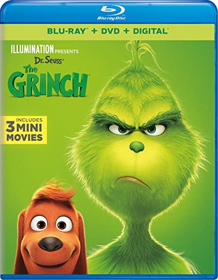 Dr. Suess' The Grinch on Blu-r...