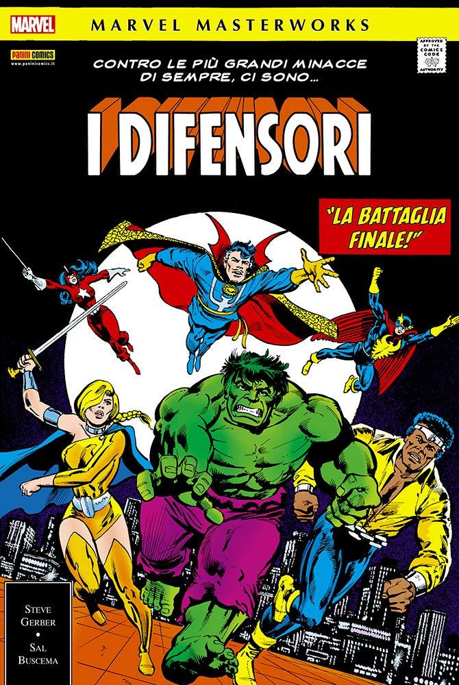 I Difensori: 5 Copertina rigida – 24 set 2018 Steve Gerber S. Buscema Panini Comics 8891239496