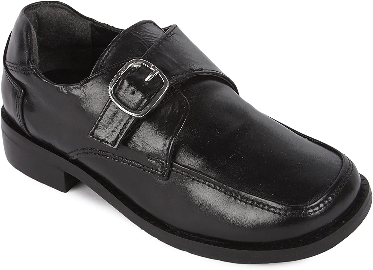 Liberty Toddlers Dress Shoes School Uniform Walking Kids Genuine Leather Gliders Age 1-4 Years