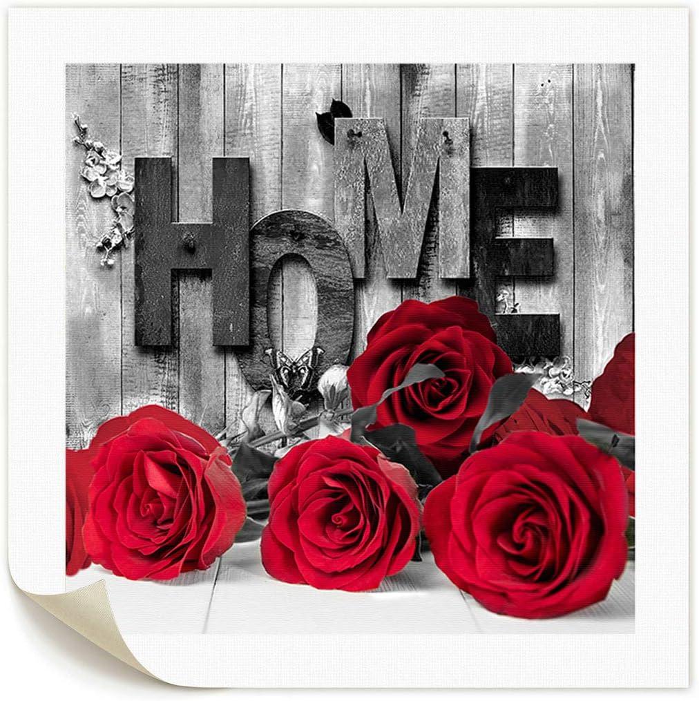 I Rose On Wood Bw Art Print Home Decor Wall Art Poster