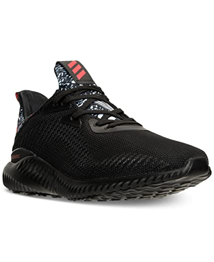 adidas Alphabounce Chinese New Year Shoe Unisex Running 12.5 Core  Black-Core Red-White