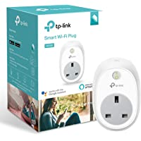 Kasa Smart Plug by TP-Link, WiFi Outlet, Works with Amazon Alexa (Echo and Echo Dot) and Google Home, Wireless Smart Socket Remote Control Timer Plug Switch, No Hub Required(HS100)