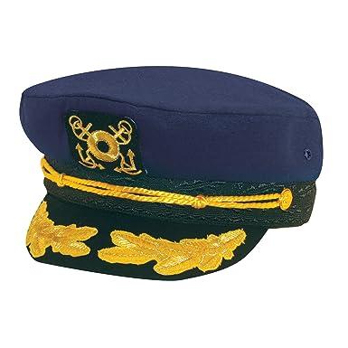 d6daca9fe1c Dorfman Pacific Co. Men s Yacht Cap (Navy) at Amazon Men s Clothing ...