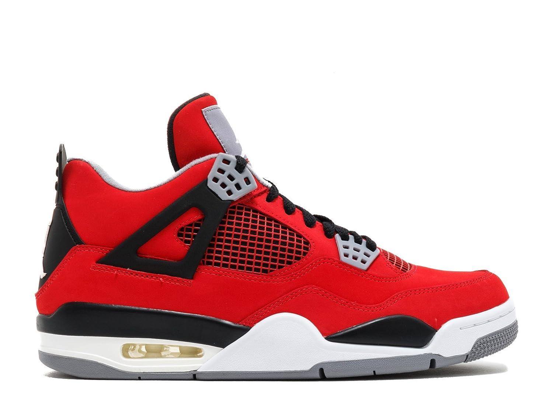 Amazon.com   NIKE Mens Air Jordan 4 Retro Toro Leather Basketball Shoes    Basketball