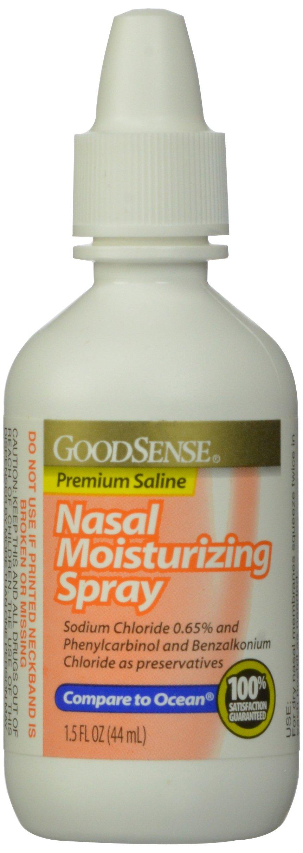 GoodSense Nasal Moisturizing Spray, 1.5 Fl Oz. (Pack of 72)
