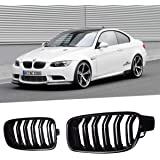 OBDATOR ABS Replacement Car Front Grilles Gloss Black for F30 F31 F35 2012-2017 3 Series 318i 320i 325i 328i 330i Black Gloss Grilles. Double Front Kidney Grill Grilles