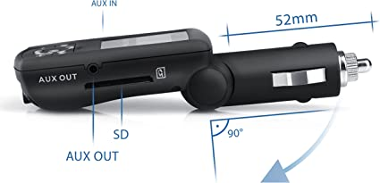 Csl In Car Fm Transmitter With Usb Sd Mmc Aux Elektronik