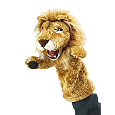 Folkmanis Lion Stage Puppet: Toys & Games