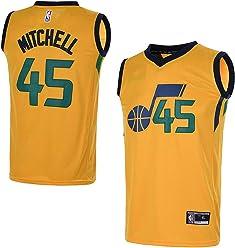 b42bb106bd48 OuterStuff Youth Utah Jazz  45 Donovan Mitchell Kids Basketball Jersey