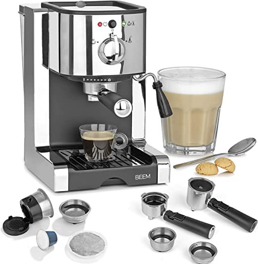 Amazon.de: BEEM ESPRESSO-PERFECT | Espresso-Siebträgermaschine ...
