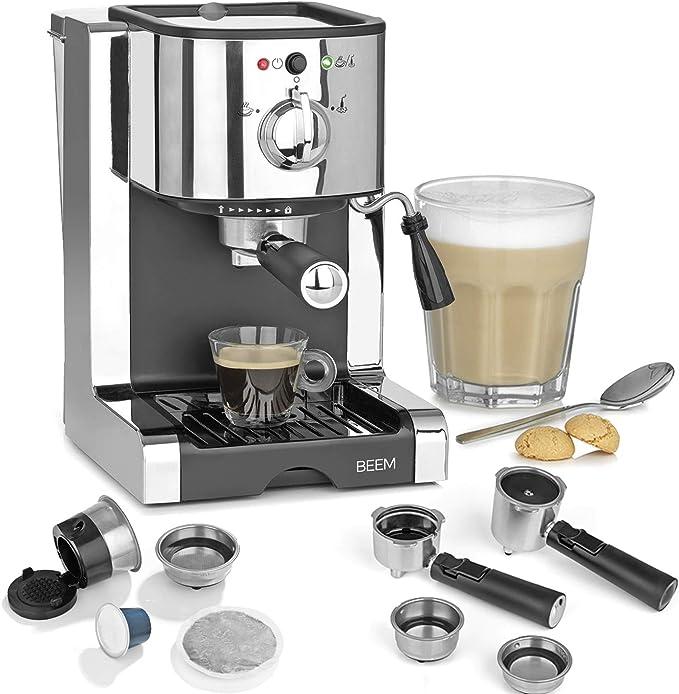 Espresso Perfect 20 Bar & Nespresso-Kapsel Kompatibilität plata ...