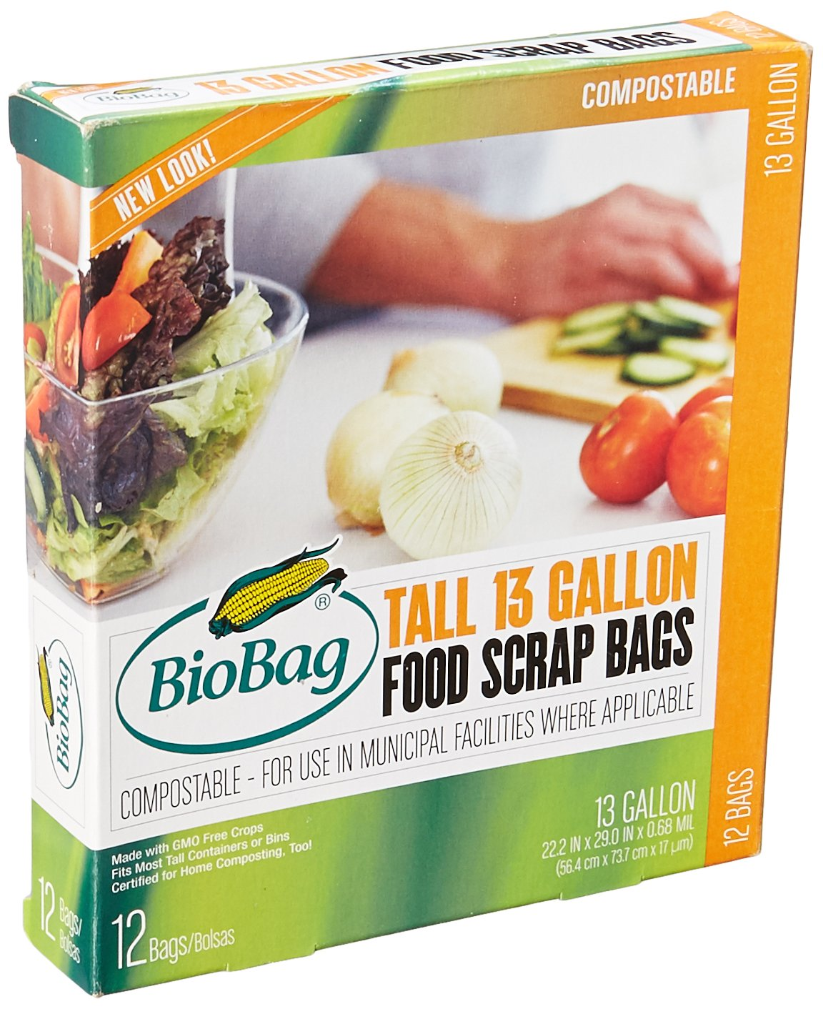 13 Gallon Tall Kitchen Bags (12 Count)