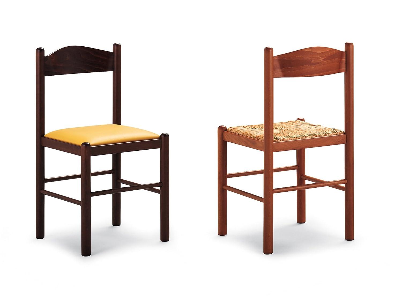 Sedia Pisa sedile paglia noce: Amazon.it: Casa e cucina
